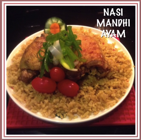 Resep Nasi Mandhi Ayam