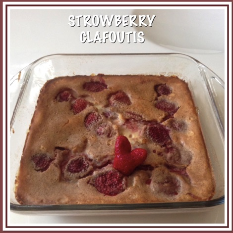 Resep Strawberry Clafoutis