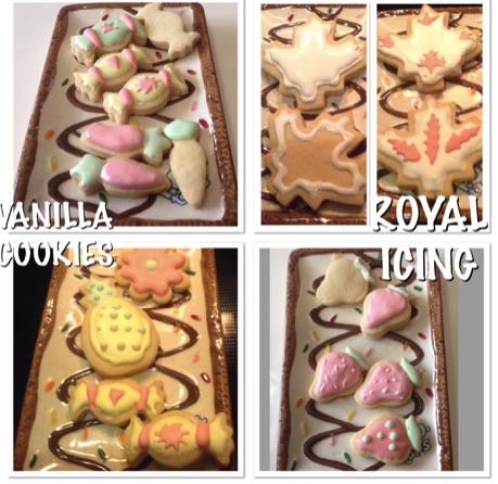 Resep Vanilla Cookies & Royal Icing Sugar
