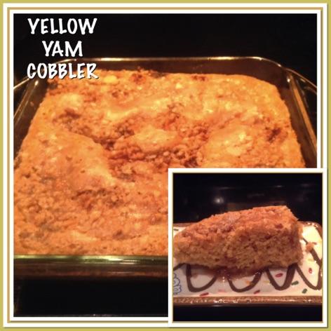 Resep Yellow Yam Cobbler