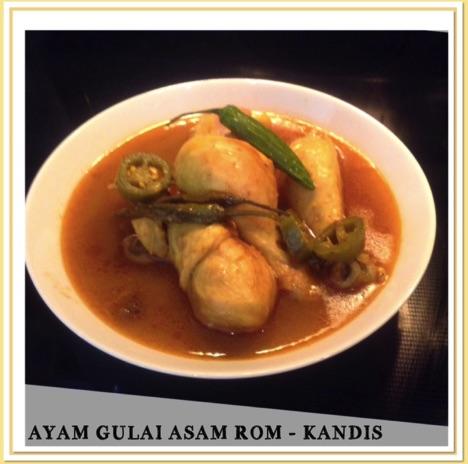 Resep Ayam Gulai Asam Rom – Kandis