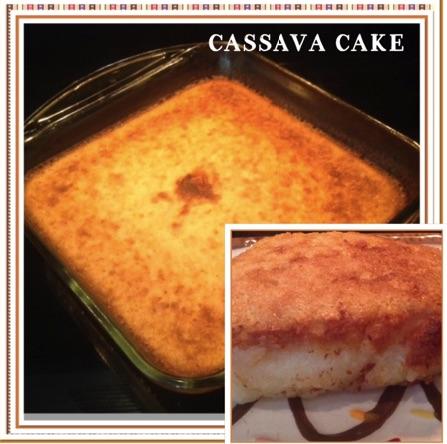 Resep Cassava Cake