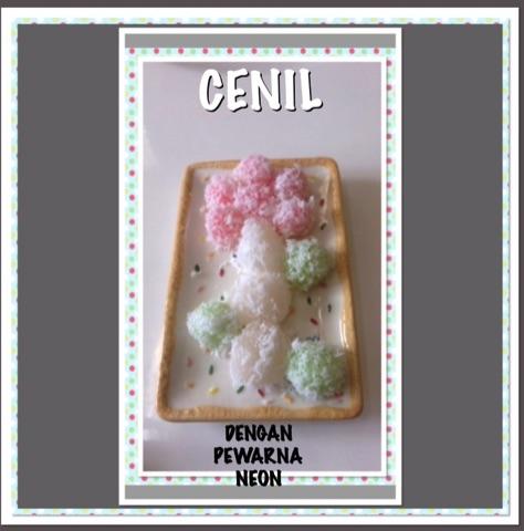 """Resep Cenil Dengan Pewarna """"NEON"""""""