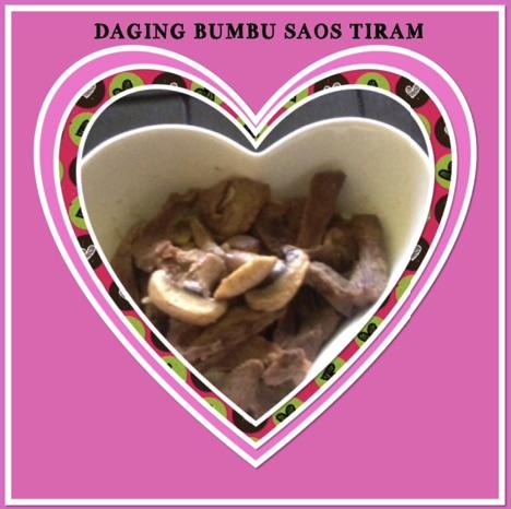 Resep Daging Bumbu Saos Tiram