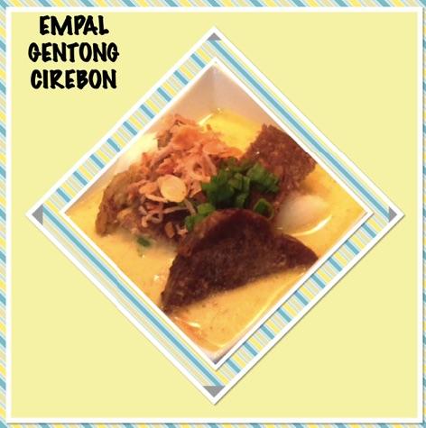 Resep Empal Gentong Cirebon