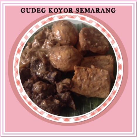 Resep Gudeg Koyor Semarang