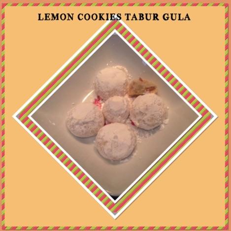 Resep Lemon Cookies Tabur Gula