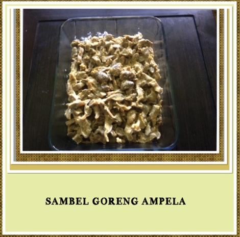 Resep Sambel Goreng Ampela