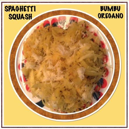 Resep Spaghetti Squash Bumbu Oregano / Spaghetti Squash Tabur Keju