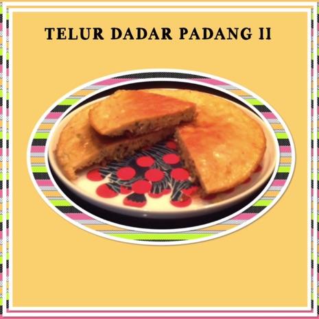 Resep Telur Dadar Padang II