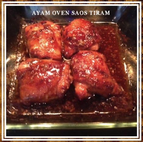Resep Ayam Oven Saos Tiram