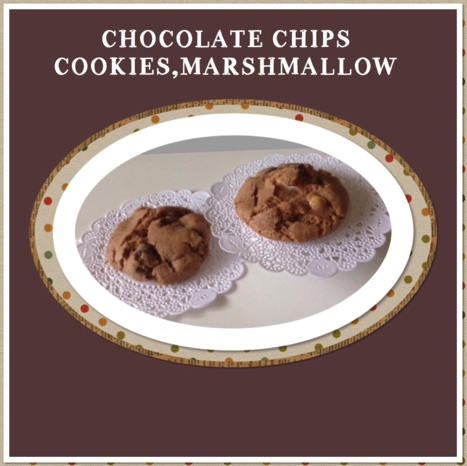 Resep Marshmallow Chocolate Chips Cookies
