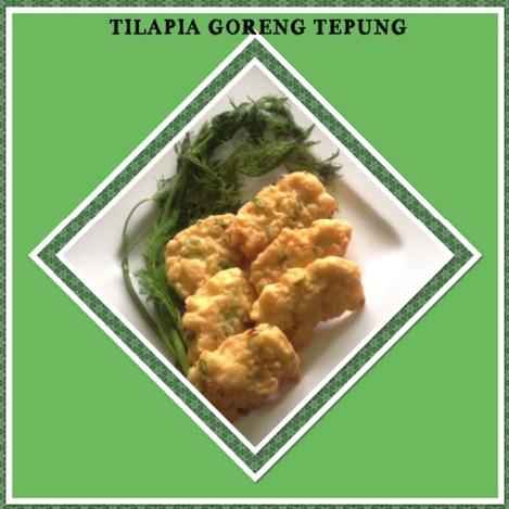 Resep Tilapia Goreng Tepung