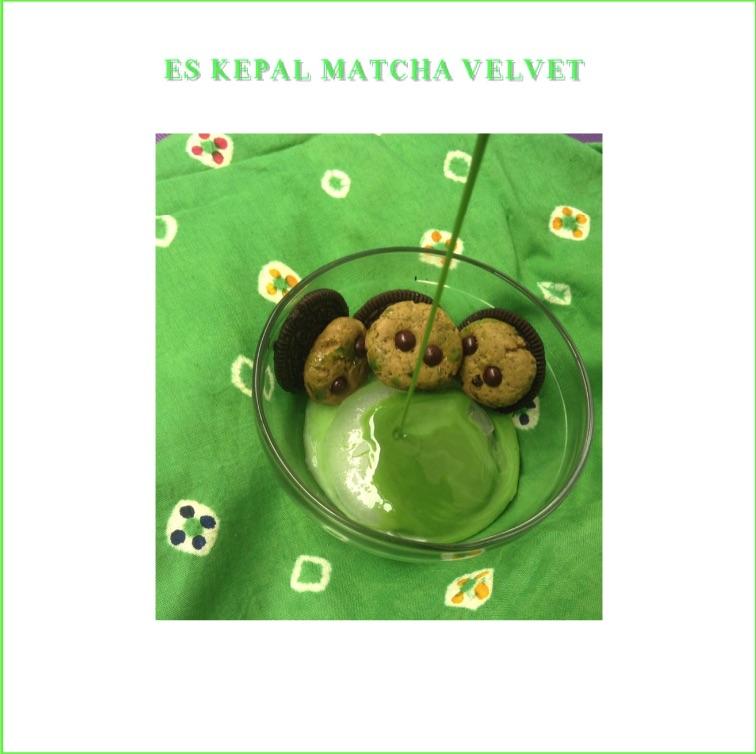 Resep Es Kepal Matcha Velvet