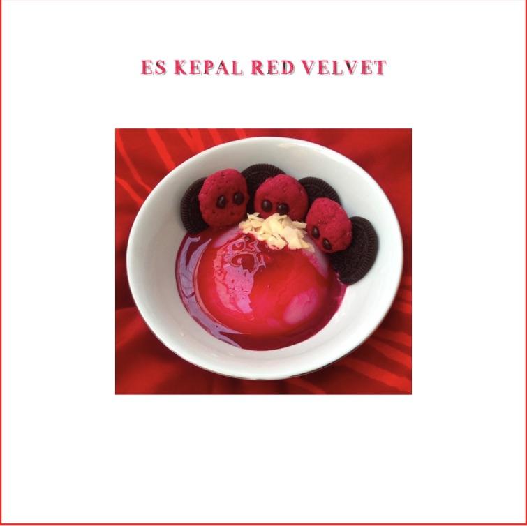 Resep Es Kepal Red Velvet