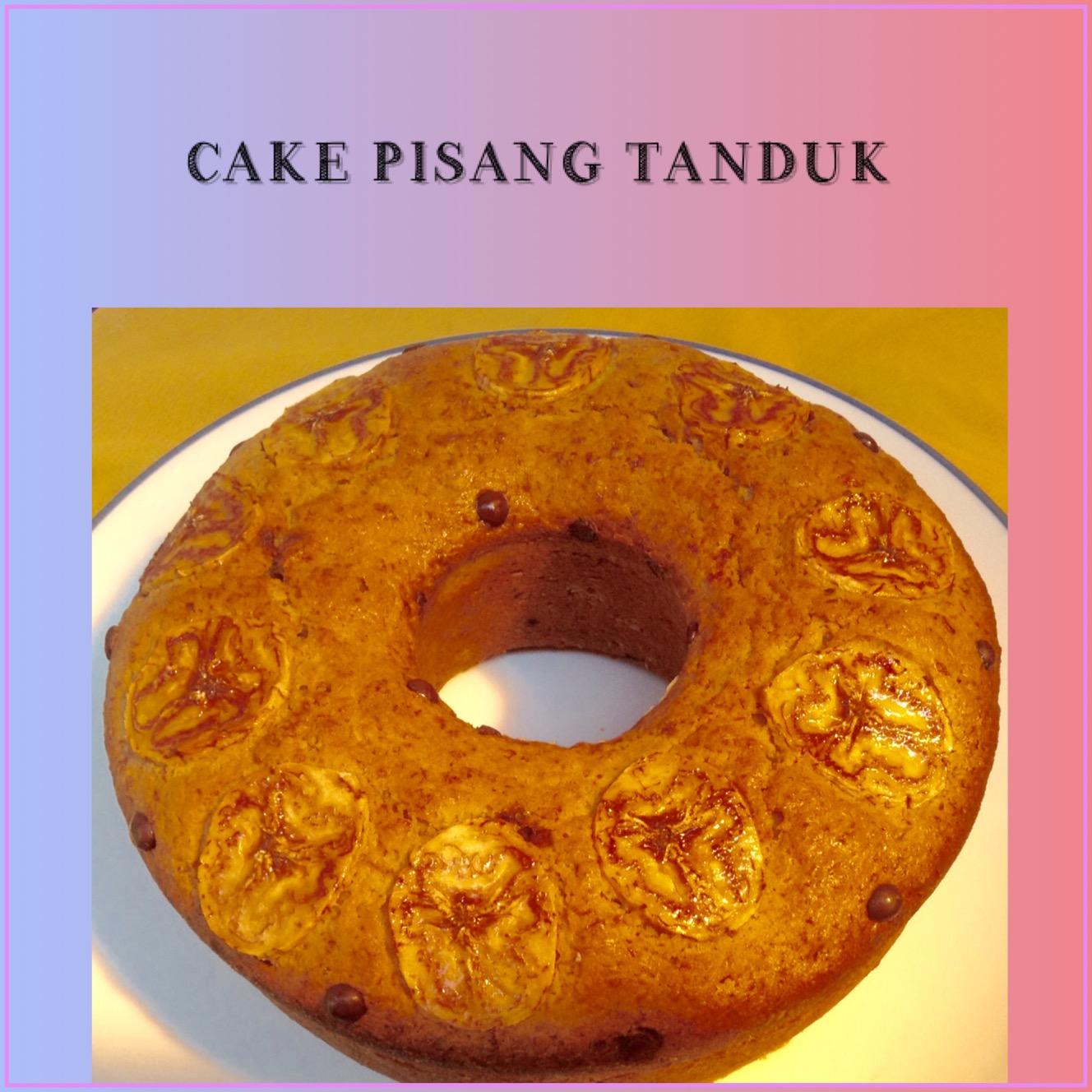 Resep Cake Pisang Tanduk