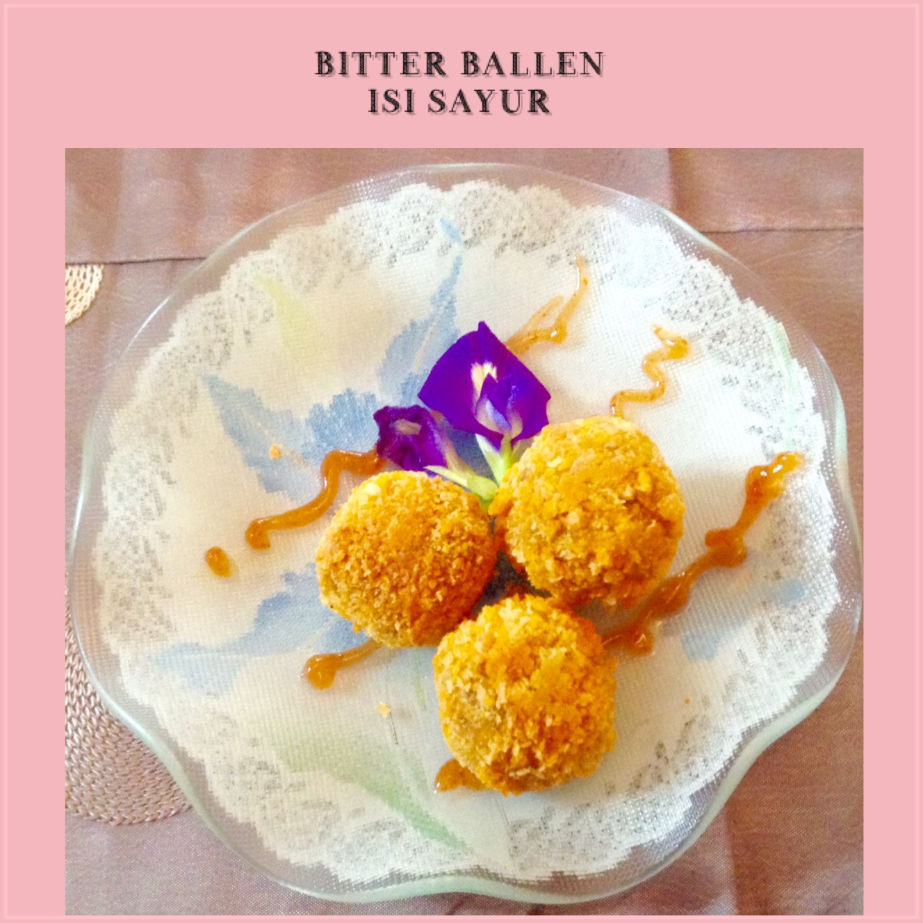 Resep Bitterballen Isi Sayur