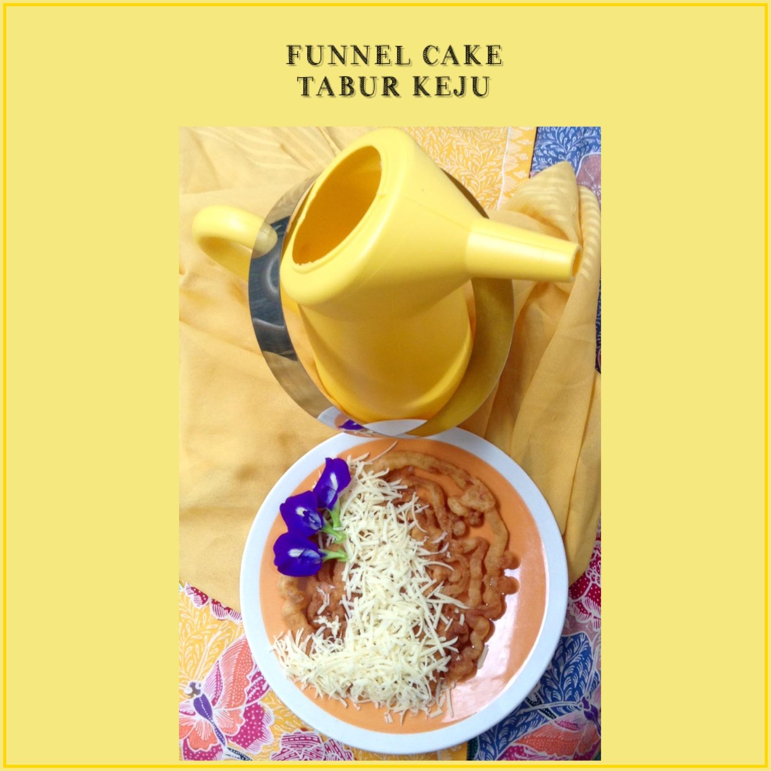Resep Funnel Cake Tabur Keju