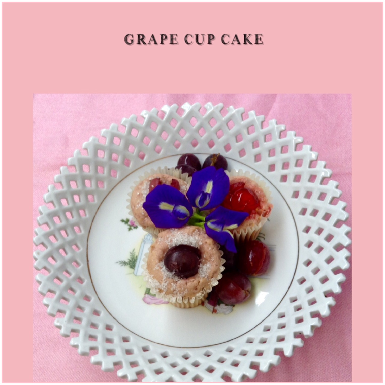 Resep Grape Cupcake