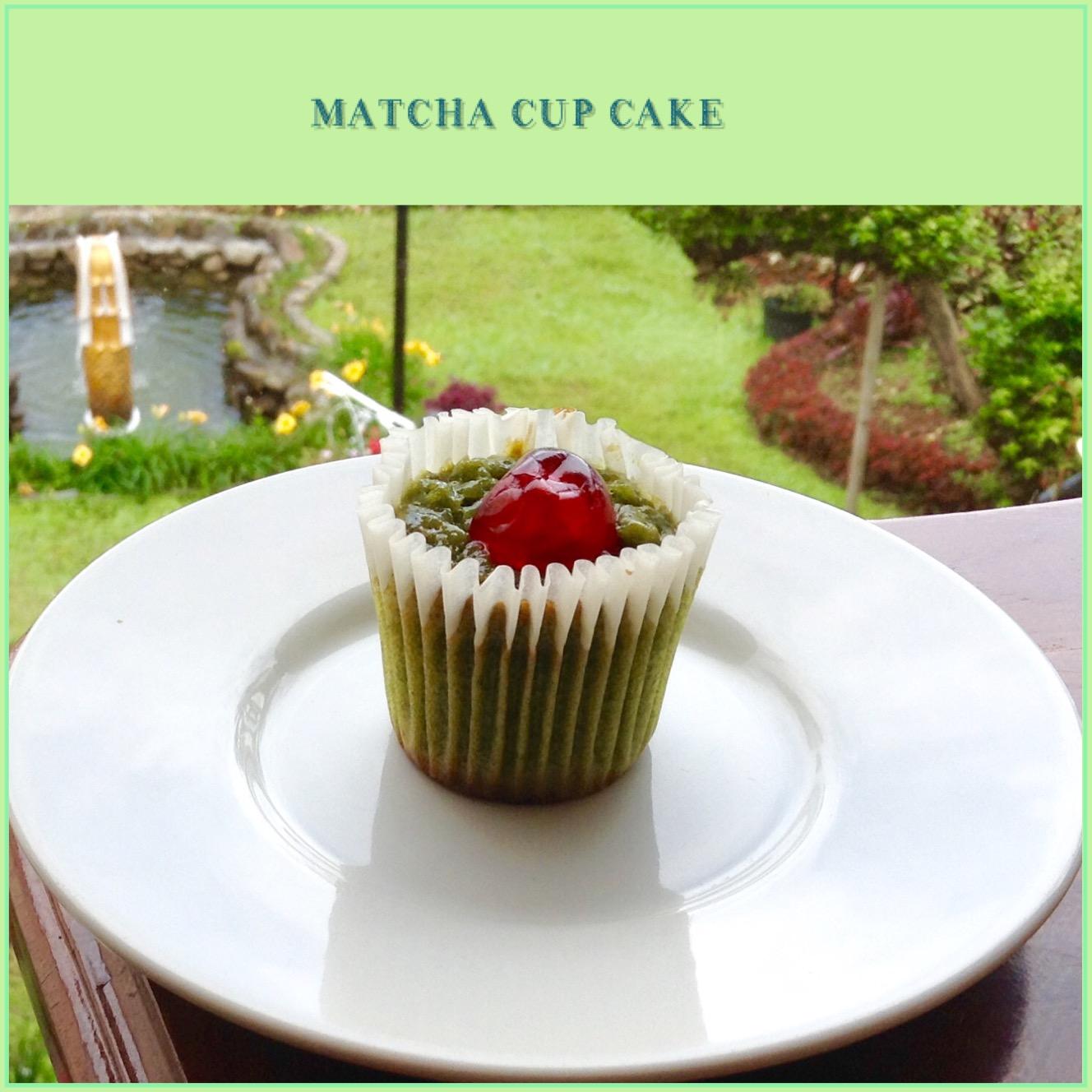 Resep Matcha Cupcake