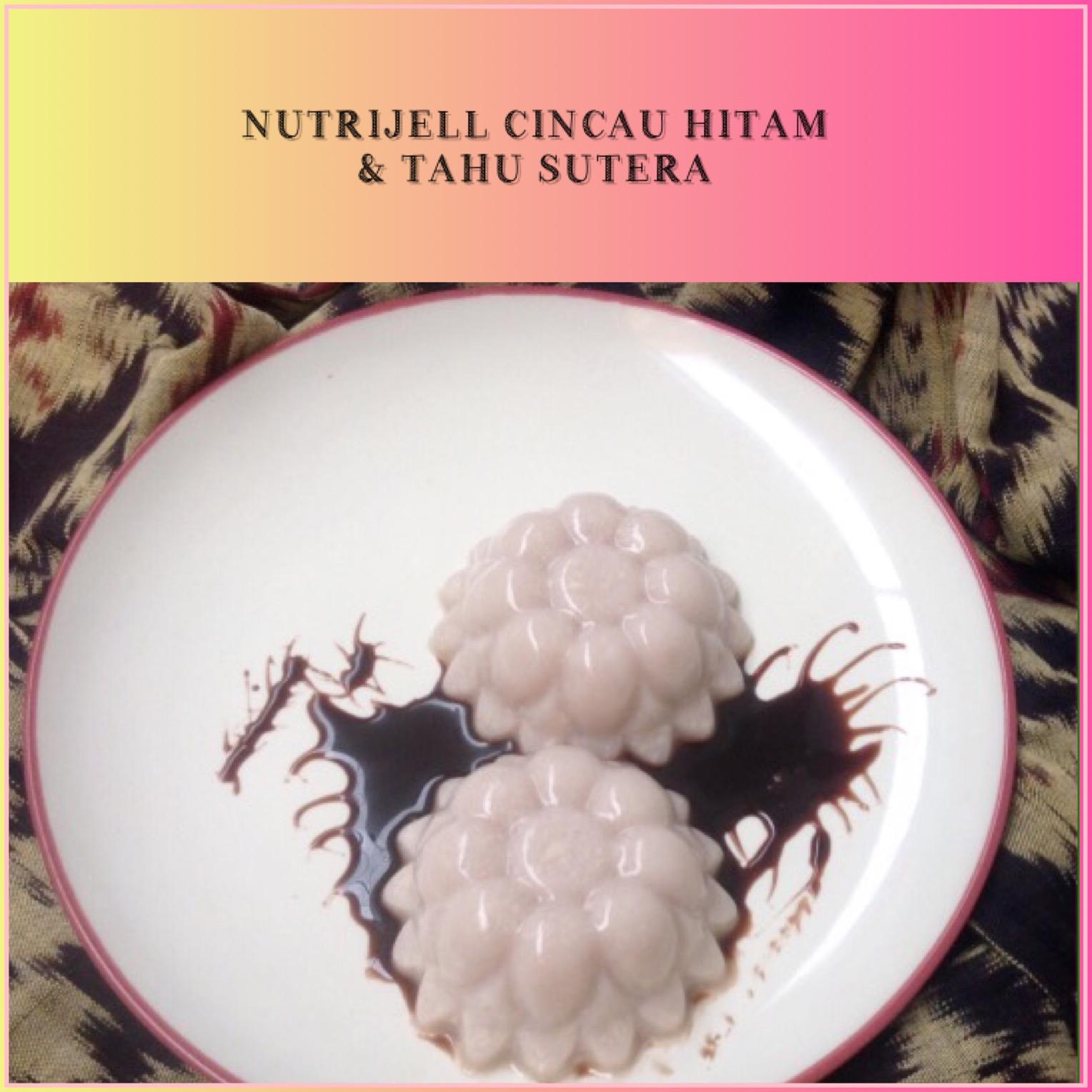 Resep Nutrijell Cincau Hitam & Tahu Sutra