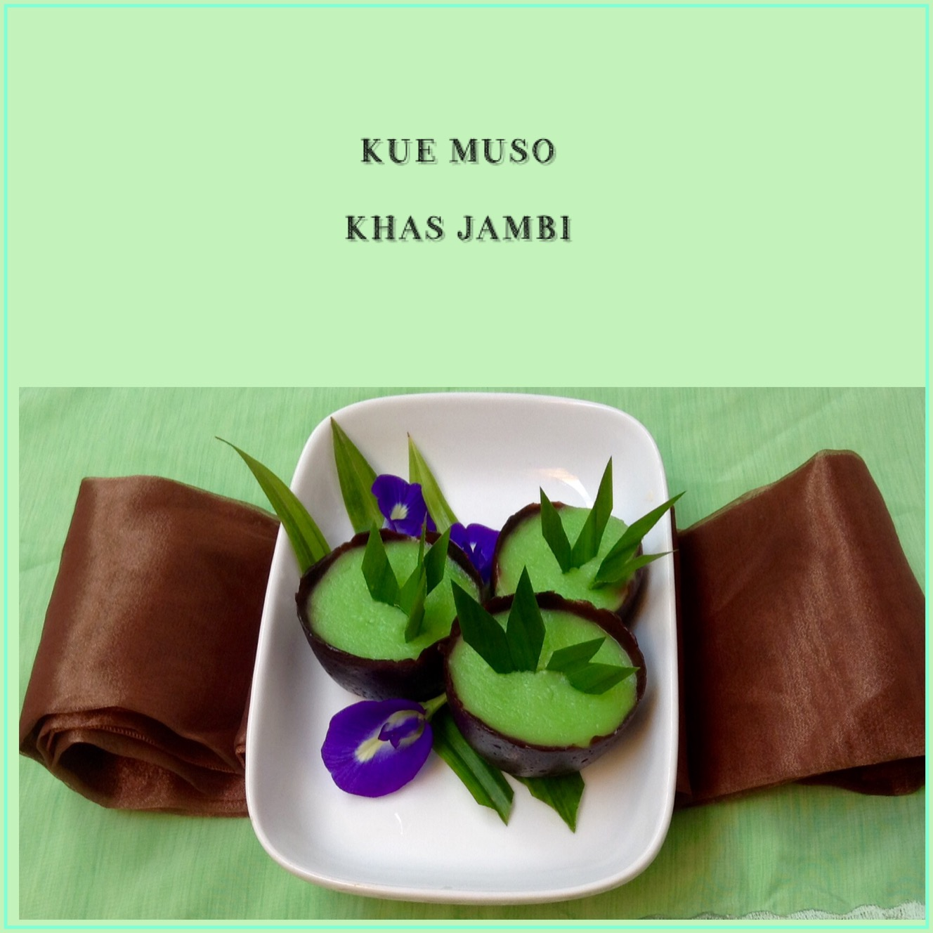 Resep Kue Muso Khas Jambi