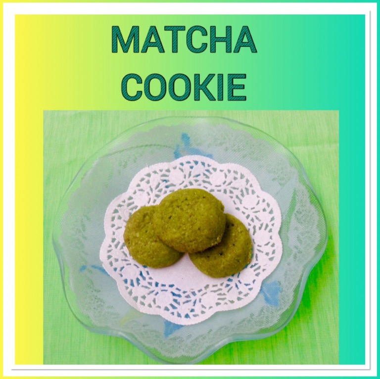 Resep Matcha Cookie
