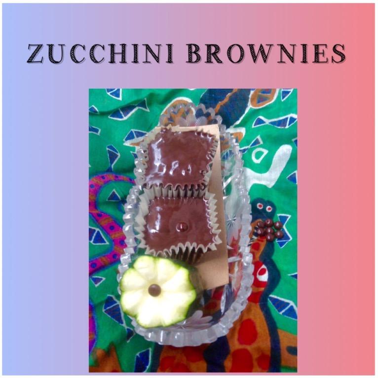 Resep Zucchini Brownies