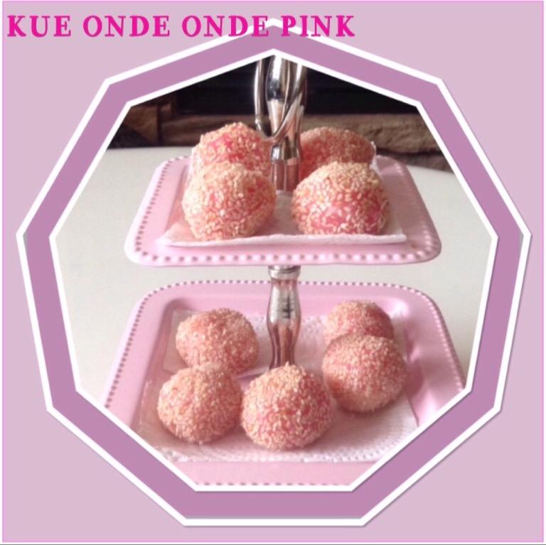 Resep Kue Onde Onde Pink