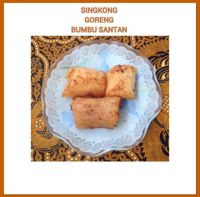 Resep Singkong Goreng Bumbu Santan