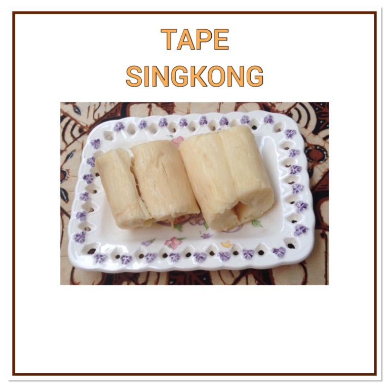 Resep Tape Singkong