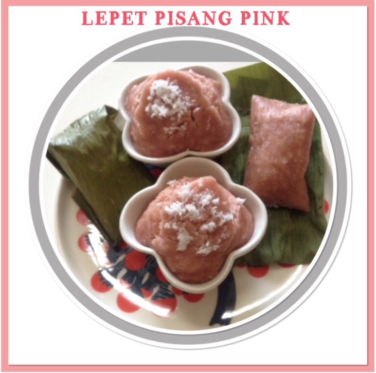 Resep Kue Lepet Pisang Pink