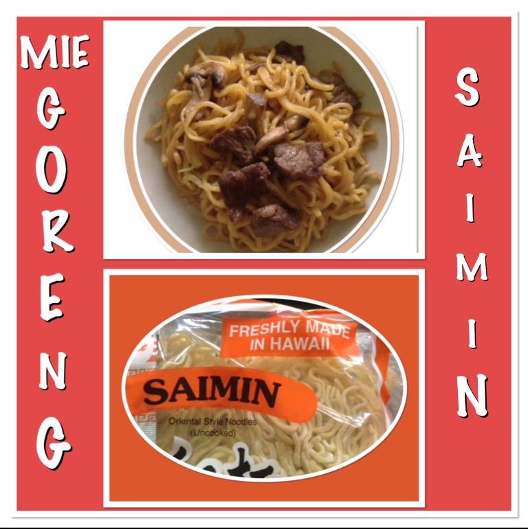 Resep Mie Goreng Saimin