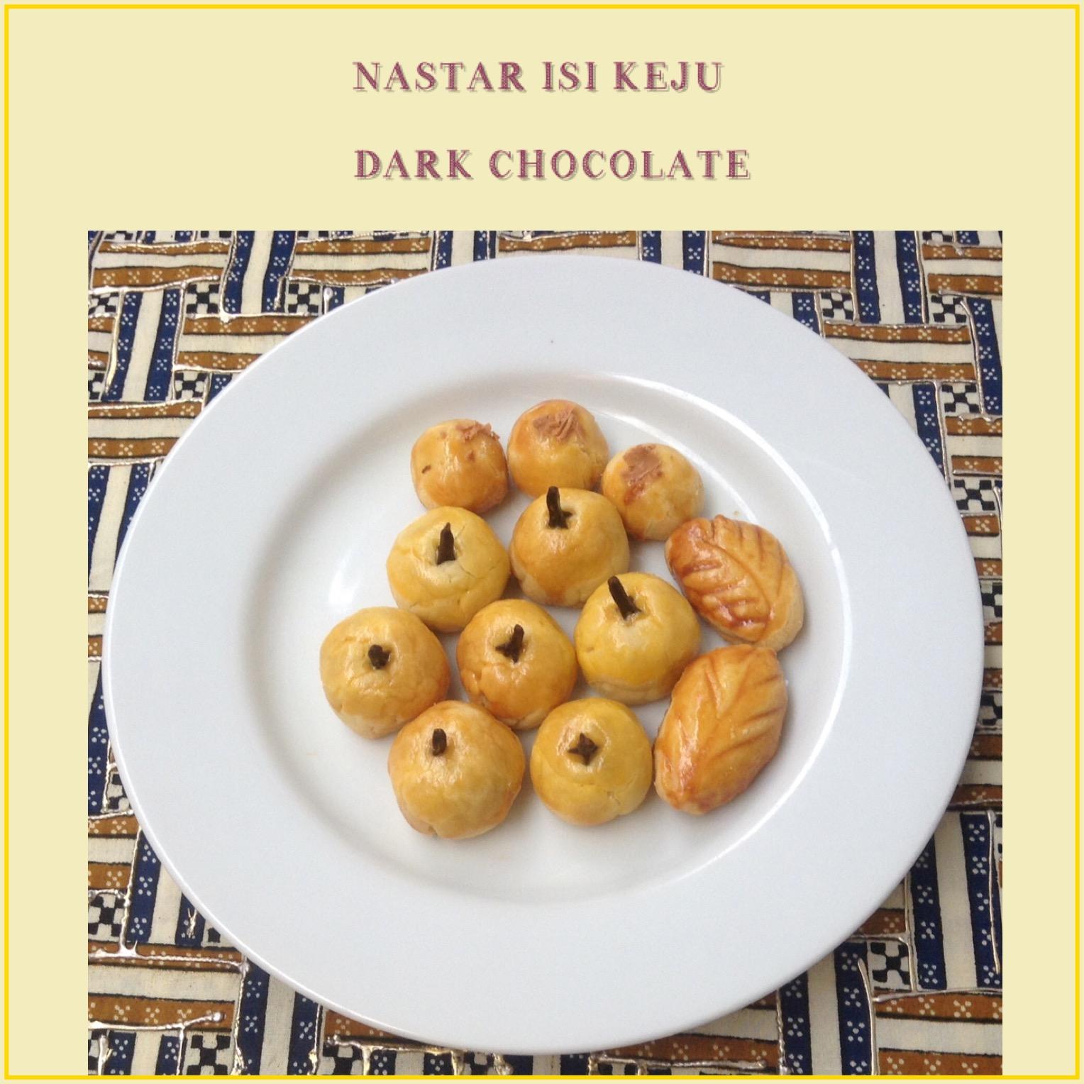 Resep Nastar isi Keju Dark Chocolate
