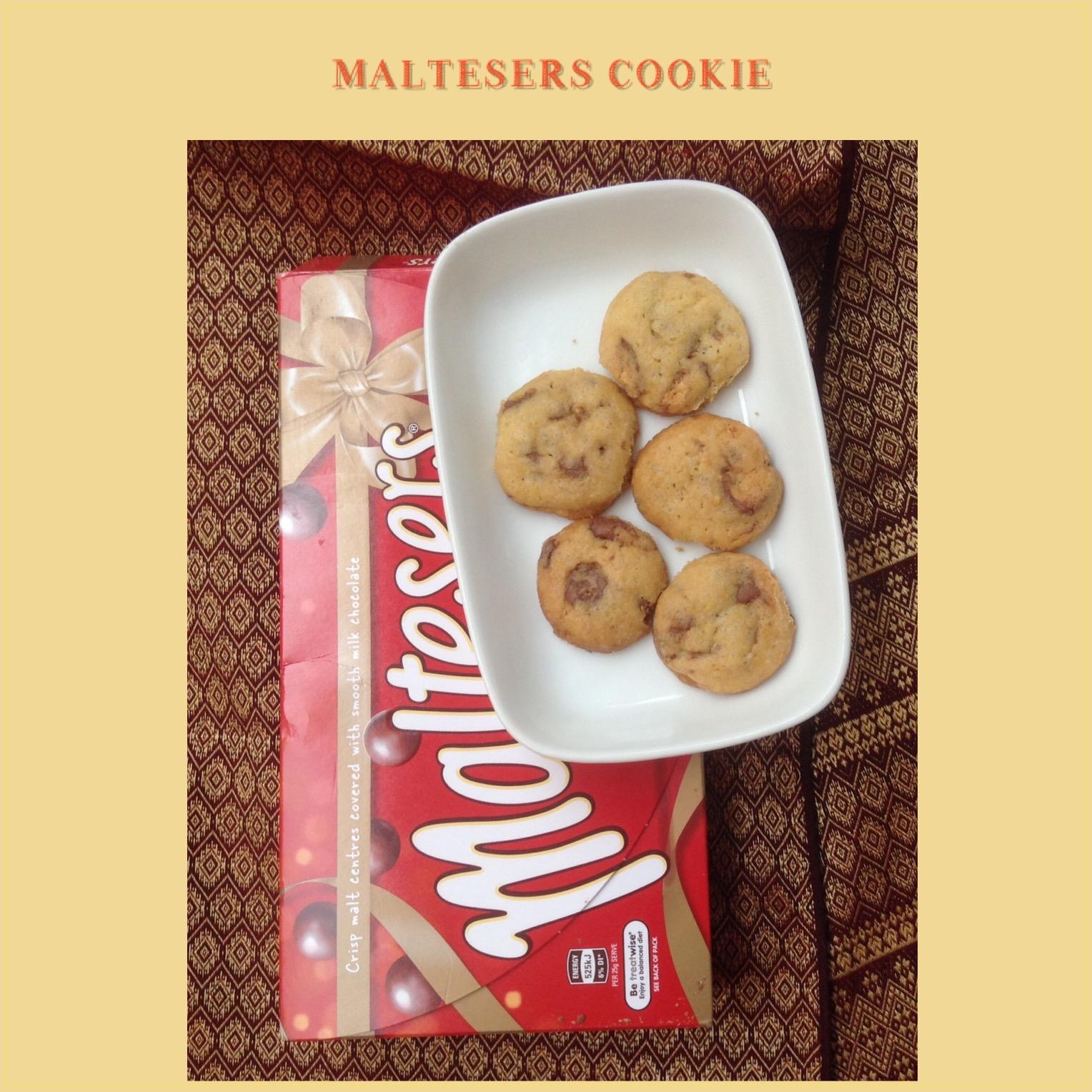 Resep Maltesers Cookie