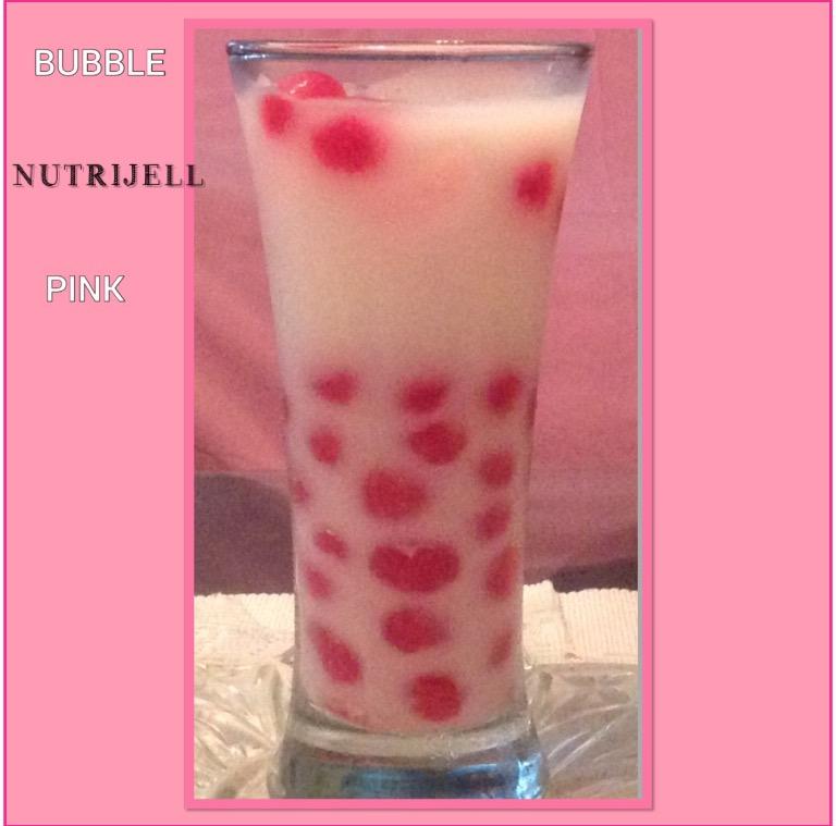 Resep Bubble Nutrijell Pink