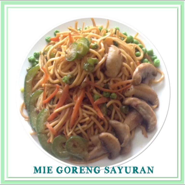 Resep Mie Goreng Sayuran
