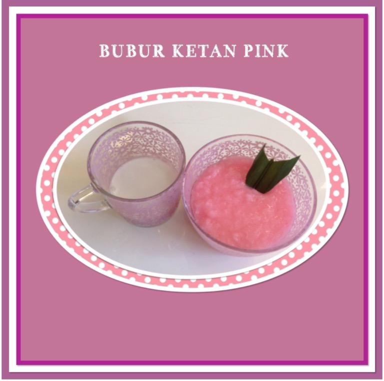 Resep Bubur Ketan Pink