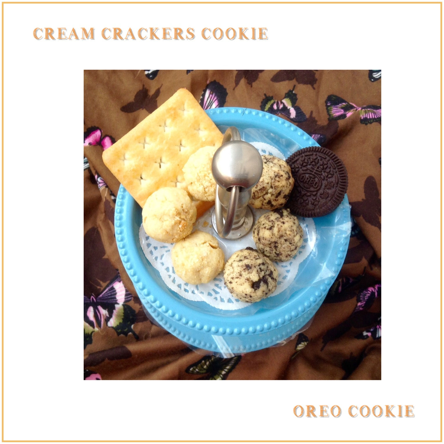 Resep Cream Crackers Cookie Oreo Cookie