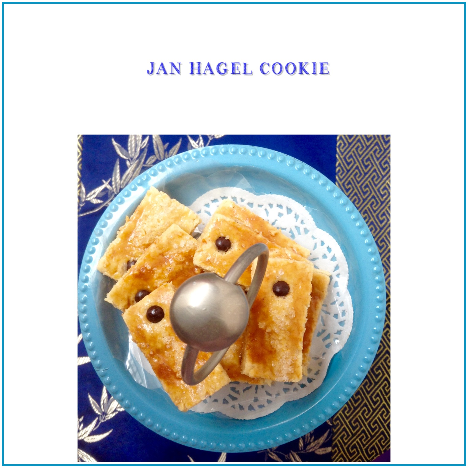 Resep Jan Hagel Cookie