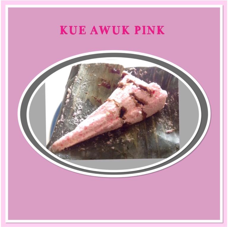 Resep Kue Awuk Pink