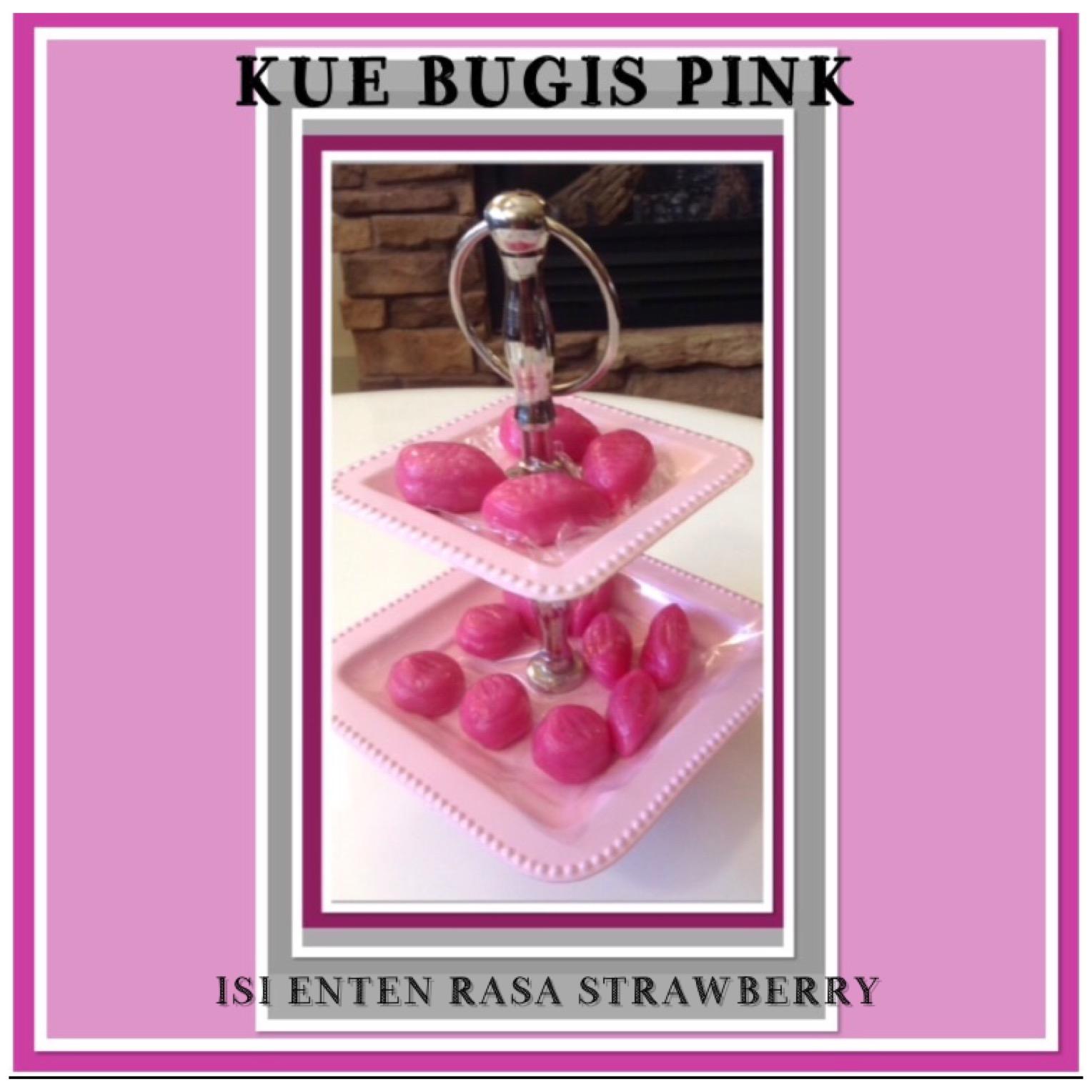 Resep Kue Bugis Isi Enten Kelapa Rasa Strawberry