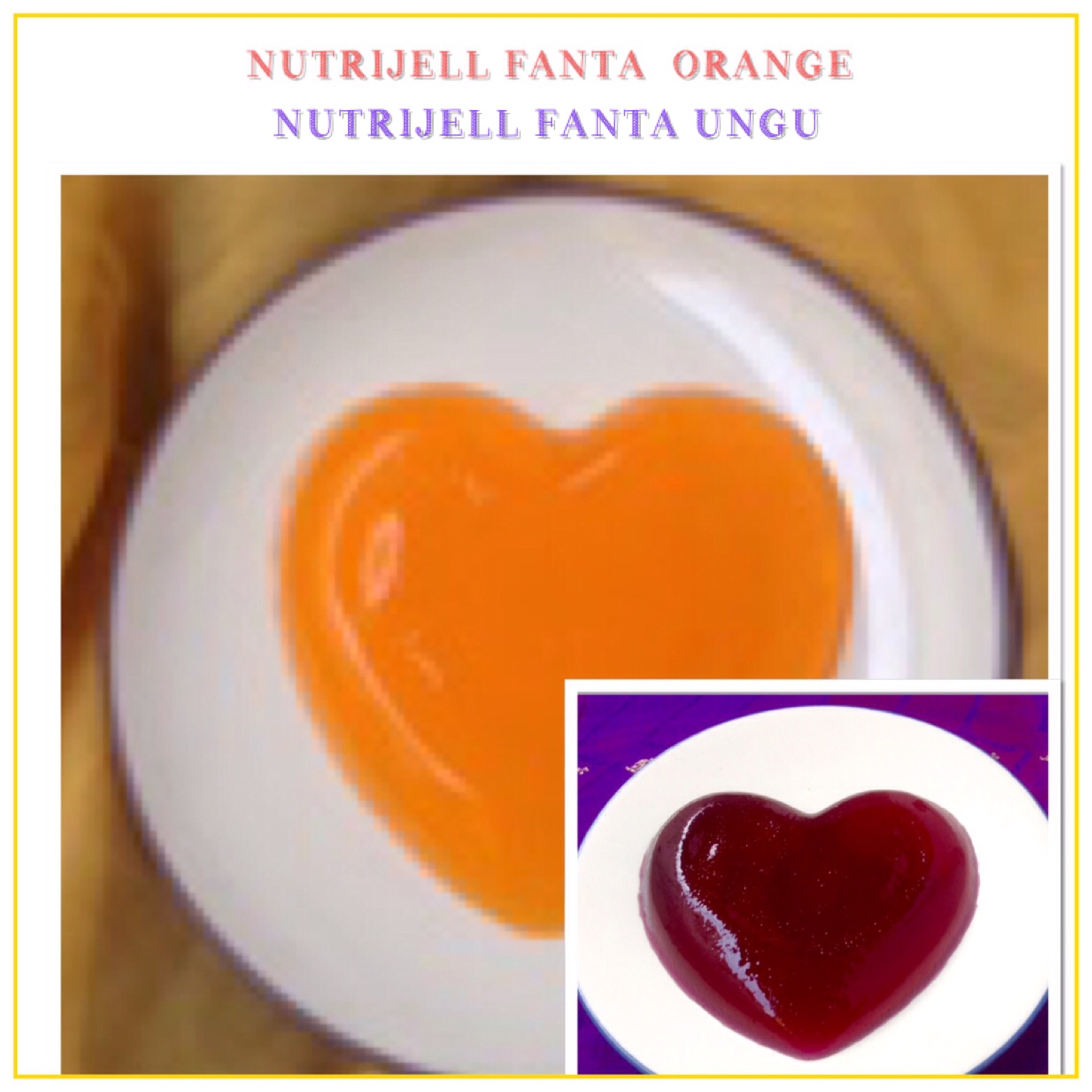 Nutrijell Fanta Orange/Ungu