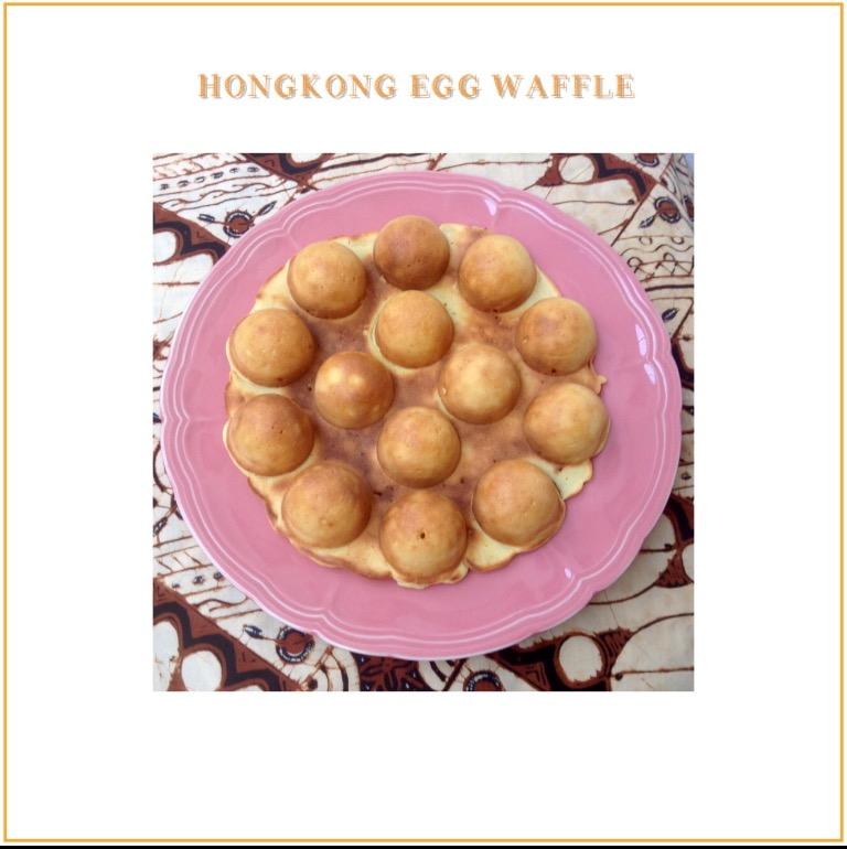 Resep Hongkong Egg Waffle