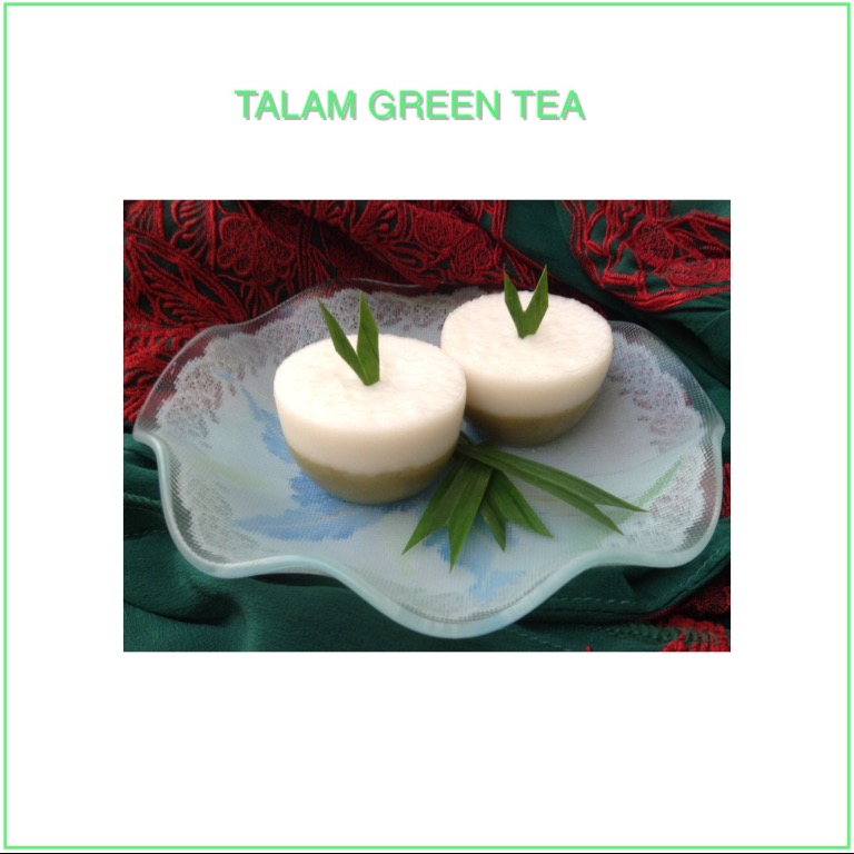 Resep Talam Green Tea