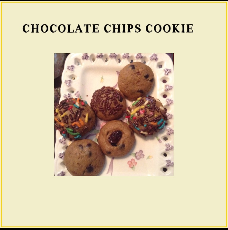 Resep Chocolate Chips Cookies