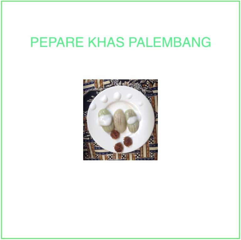 Resep Kue Pepare Khas Palembang