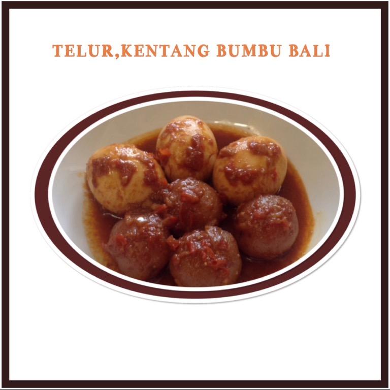 Resep Telur Kentang Bumbu Bali