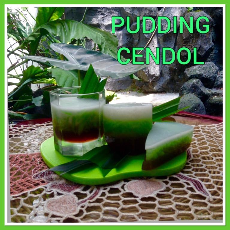 Resep Pudding Cendol