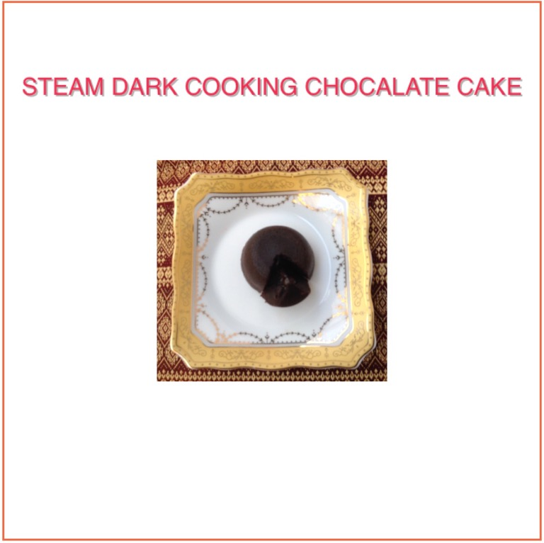 Resep Steam Dark Cooking Chocolate Cake